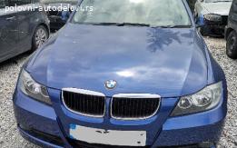 Kompletan auto u delovima BMW e 91