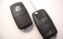 Kućište ključa Škoda SuperB