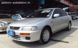 Mazda 323 kompletan auto u delovima