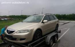 Mazda 6 dizel karavan 2005 godiste