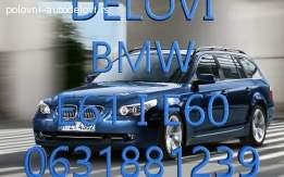 Menjac i delovi menjaca za BMW E61 I E60
