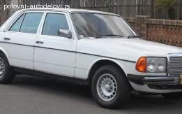 Mercedes 123 kompletan auto u delovima
