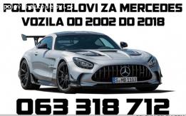 Mercedes B 150 Kompletan Auto U Delovima
