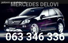 Mercedes C klasa delovi