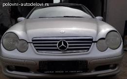 Mercedes C Sport Coupe W203 u delovima