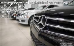 Mercedes E klasa W211 i C klasa w203 polovni delovi NIŠ