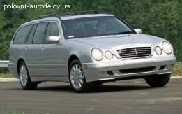 Mercedes E250 kompletan auto u delovima
