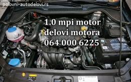 Motor 1.0 mpi kompletan delovi citigo,fabia,rapid Motor 1.0