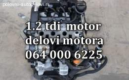 Motor 1.2 tdi kompletan delovi