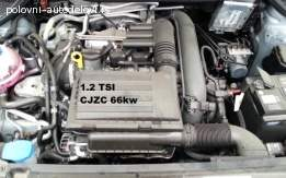 Motor 1.2 tsi 66kw delovi