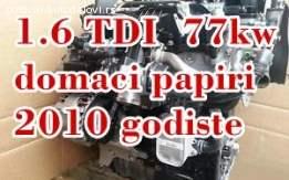 Motor 1.6 TDI 77 kw