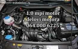 Motor Škoda 1.0 mpi