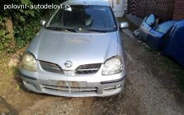 Nissan Almera Tinno restyling