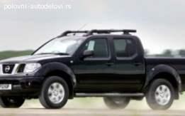 Nissan navara 2.5dci delovi