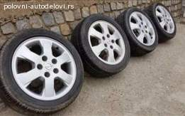 Opel alu felne 15 5x110