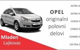 Opel Astra H kompletan auto u delovima