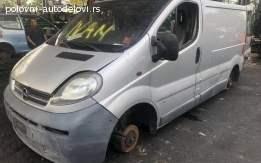 Opel Vivaro 1.9 dci POLOVNI DELOVI