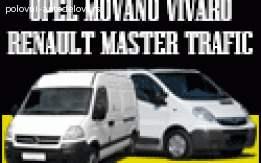 Opel Vivaro Movano Reno Trafik Master POLOVNI DELOVI