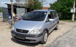 Opel zafira a polovni delovi