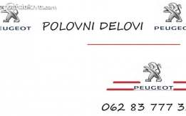 PEUGEOT 508 DELOVI (svi modeli)