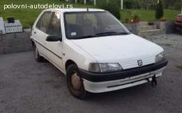 Pezo 106 Peugeot DELOVI