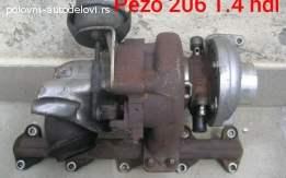 Pezo 206 1.4  hdi Turbina