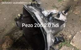 Pezo 206 2.0 hdi Menjac