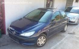 Pezo 206 Peugeot DELOVI
