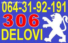 Pežo 306 Viljuška Letva Volana Nosač Doboš Disk Glavčina i D
