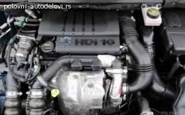Pezo 307 1.6 hdi Motor