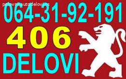Pežo 406 Bobina Dizne Senzori Regulator Pumpa i DELOVI