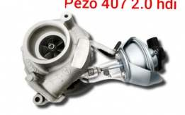 Pezo 407 2.0 hdi Turbina
