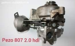 Pezo 807 2.0 hdi Turbina