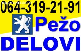 Pežo DELOVI Peugeot 307 807 406 206 306 106