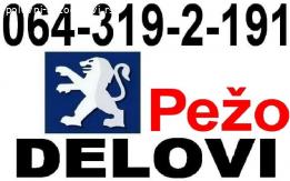 Pežo PARTNER DELOVI Peugeot razni