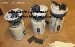 Plovak goriva Škoda Roomster