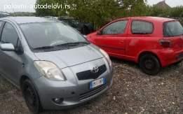 Polovni delovi Toyota Yaris