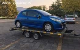 Polovni Peugeot delovi za 206 207 307 308 407