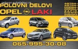 Opel auto delovi- otpad laki sabac