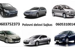 Polovni Peugeot Citroen delovi