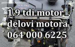 POLU MOTOR 1,9 TDI 100E EKSTRA EKSTRA