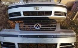 Prednji branik u sivoj boji za VW Sharana