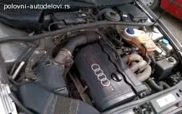Prodajem motor 1.8 benzin za Audi A4 B5,stranac!
