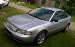 Prodajem razne delove za Audi A4 1,8 benzin,stranac.