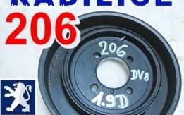 Remenica Radilice 206 Peugeot 1,9D za DV8 motor