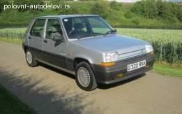 Renault 5 kompletan auto u delovima