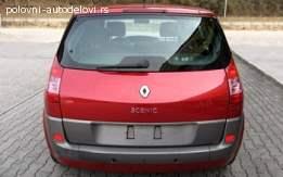 Renault Scenic Gepek vrata
