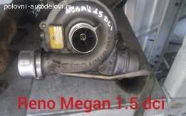 Reno Megan 1.5 dci turbina