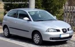 Seat Ibiza 1.6 16v 2002.god Delovi