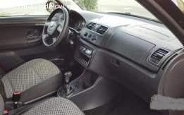 Sedišta Škoda Fabia 2